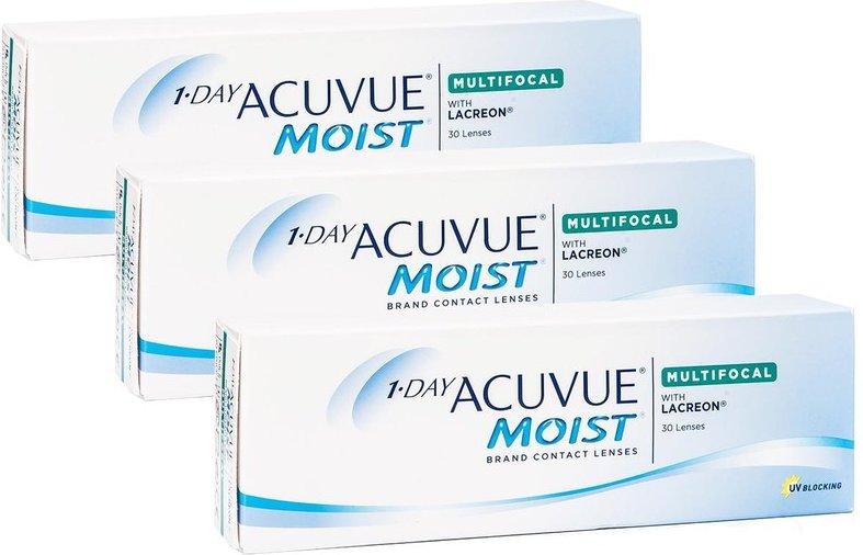 1-DAY Acuvue Moist Multifocal, 90er Pack