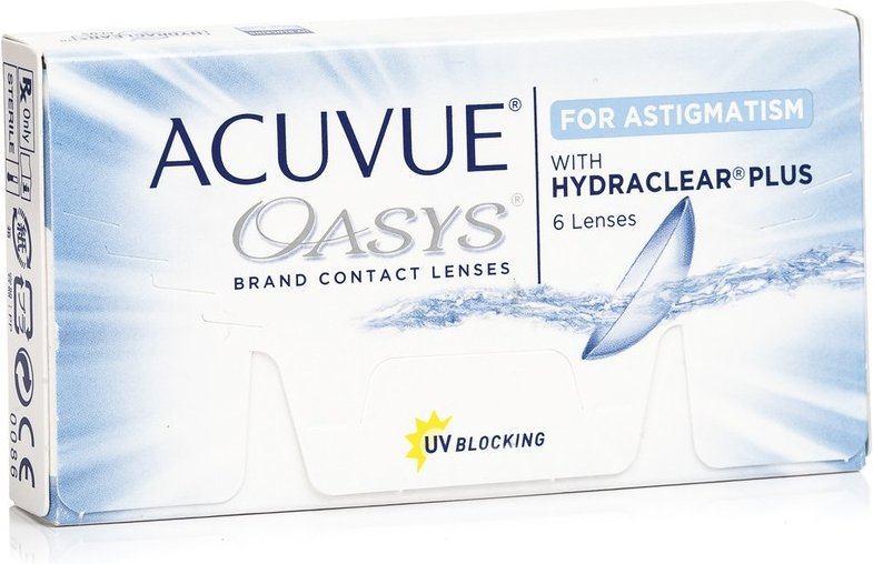 Acuvue Oasys for Astigmatism, 6er Pack