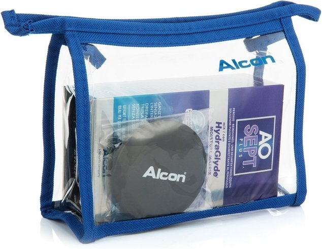 AOSEPT PLUS mit Hydraglyde 90 ml mit Behälter Flightpack-Größe