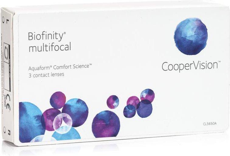 Biofinity Multifocal, 3er Pack