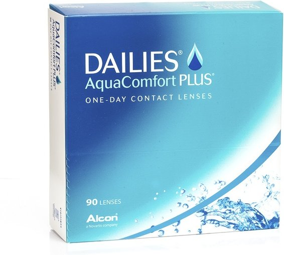 DAILIES AquaComfort Plus, 90er Pack