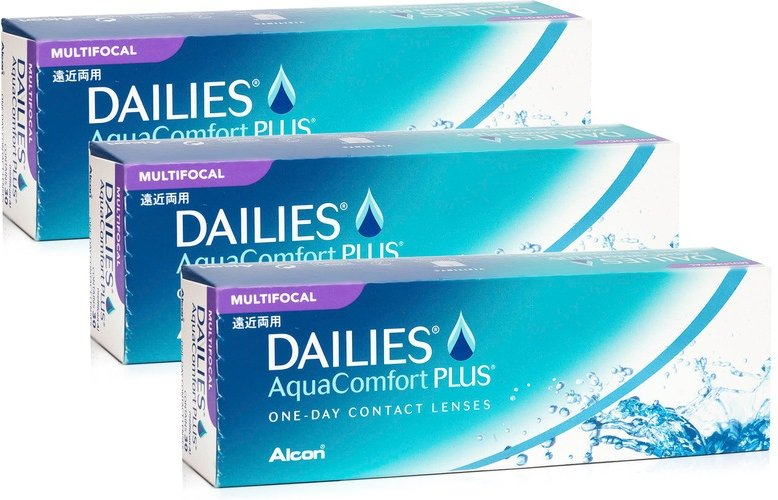 DAILIES AquaComfort Plus Multifocal, 90er Pack