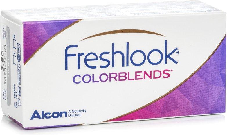 FreshLook ColorBlends, 2er Pack - ohne Stärke