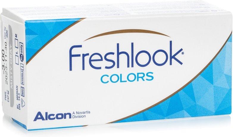 FreshLook Colors mit Stärke, 2er Pack