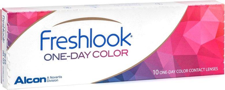 FreshLook ONE-DAY, 10er Pack - ohne Stärke