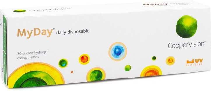 MyDay daily disposable, 30er Pack