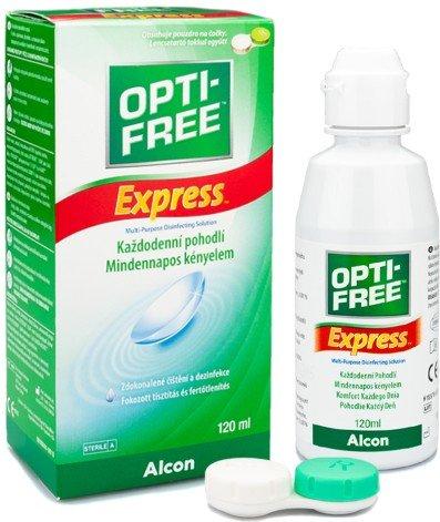 OPTI-FREE Express 120 ml mit Behälter