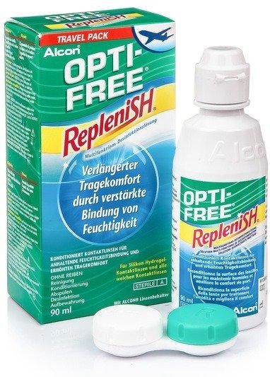 OPTI-FREE RepleniSH 90 ml mit Behälter