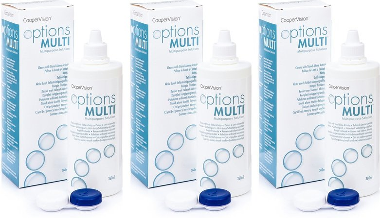 Options Multi 3 x 360 ml mit Behälter