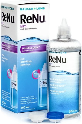 ReNu MPS Sensitive Eyes 360 ml mit Behälter