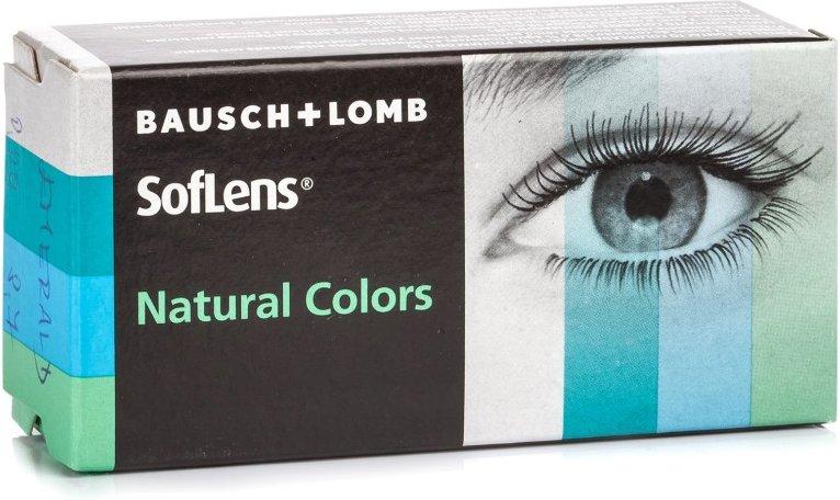 SofLens Natural Colors, 2er Pack - ohne Stärke
