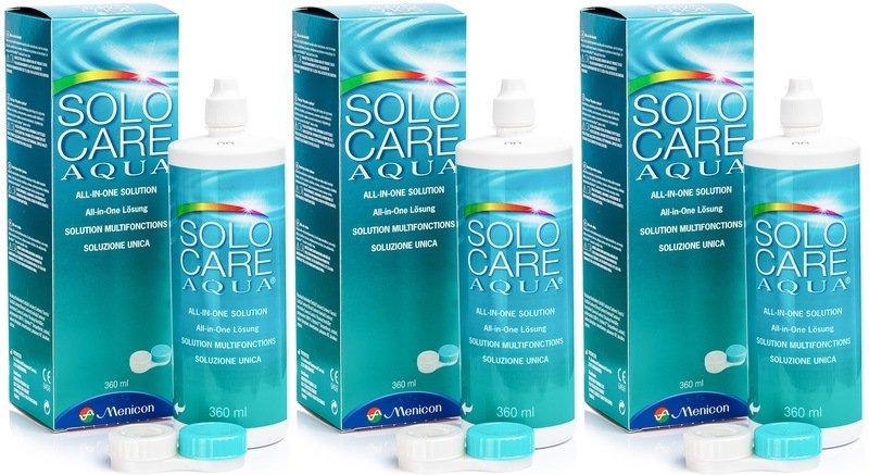SOLOCARE AQUA 3 x 360 ml mit Behälter