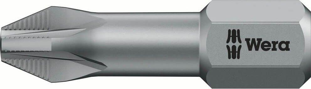 Wera 856 1TZ ACR Extra Tough Pozi Screwdriver Bits PZ1 25mm Pack of 1