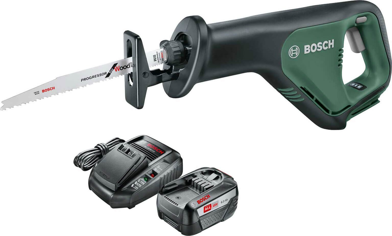 Bosch ADVANCEDRECIP 18v Cordless Recipro Saw 1 x 6ah Li ion Charger No Case
