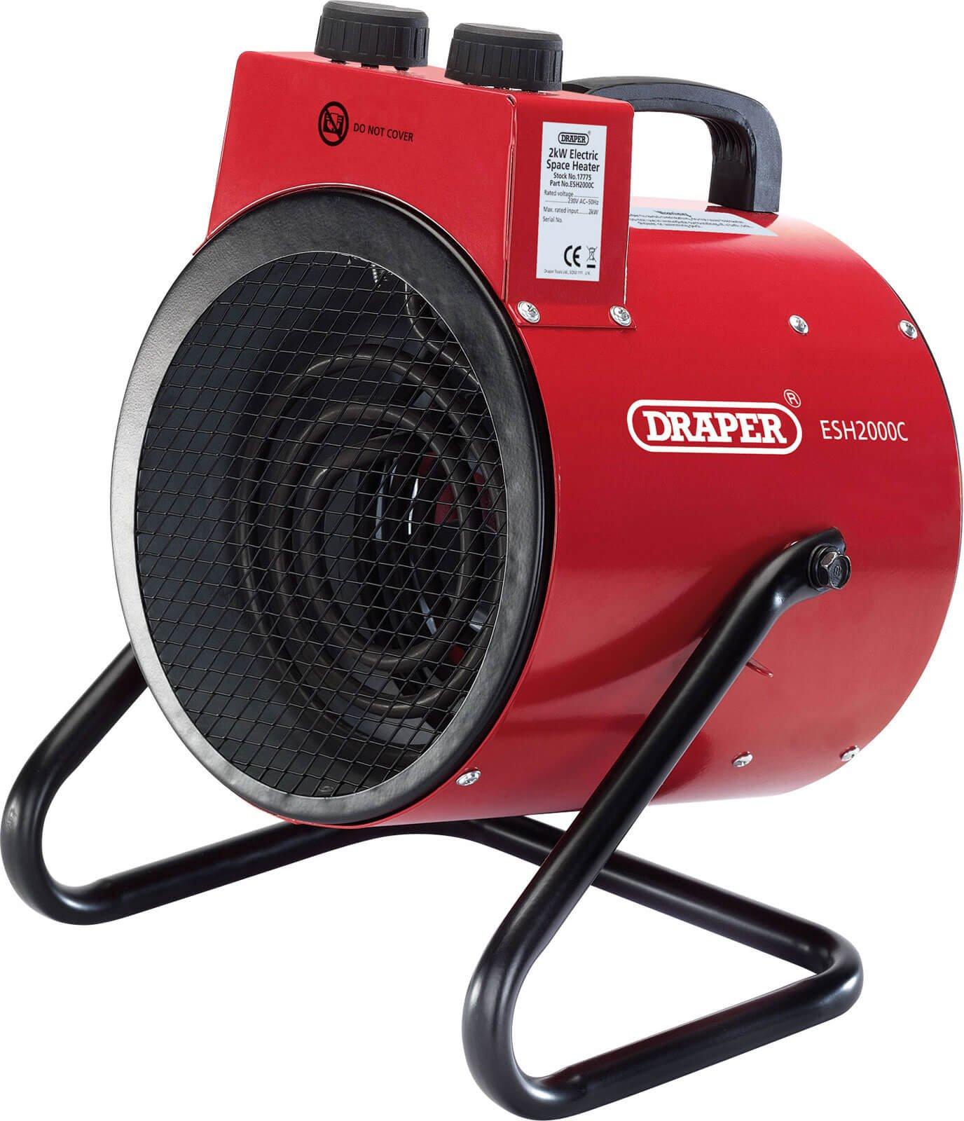 Draper ESH2000C 2Kw Space Heater 240v