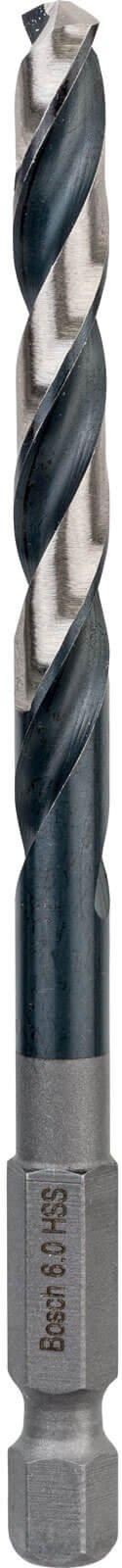 Bosch HSS Impact Drill Bit 6mm Pack of 1