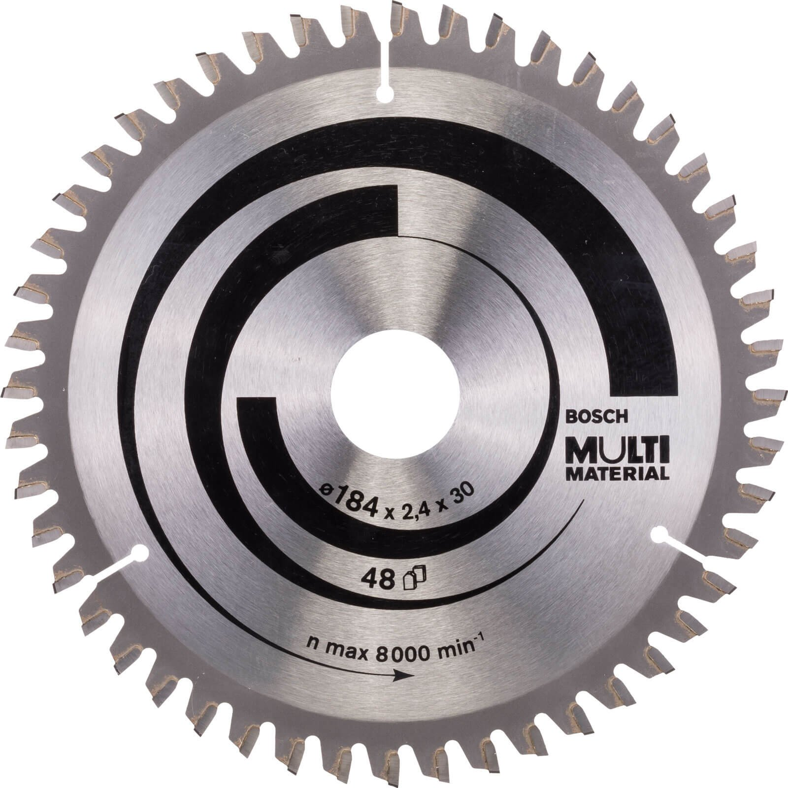 Bosch Multi Material Cutting Saw Blade 184mm 48T 30mm