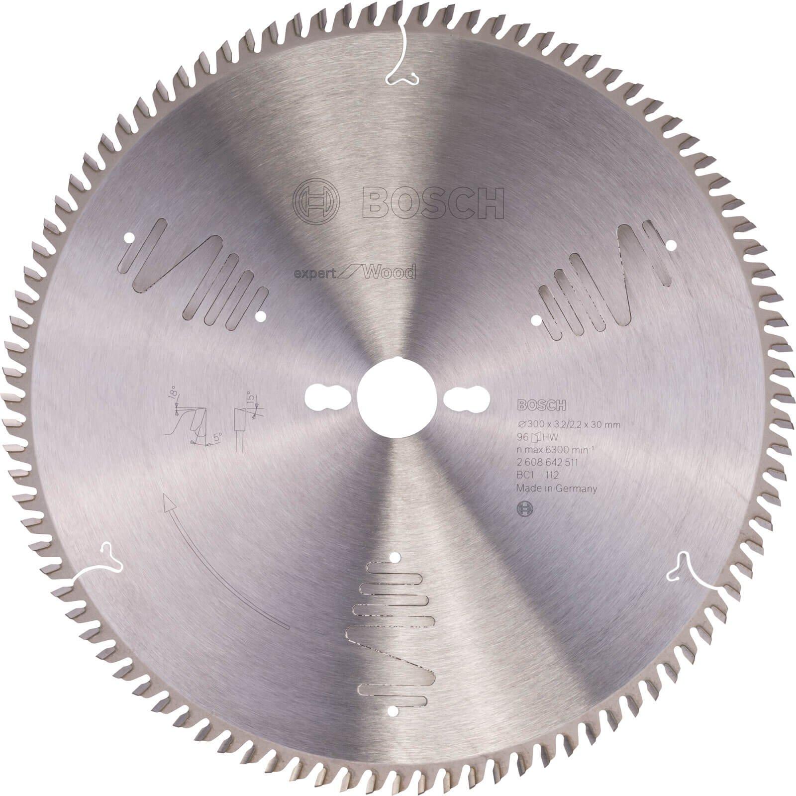 Bosch CSB Expert for Wood Circular Saw Blade 300mm 96T 30mm