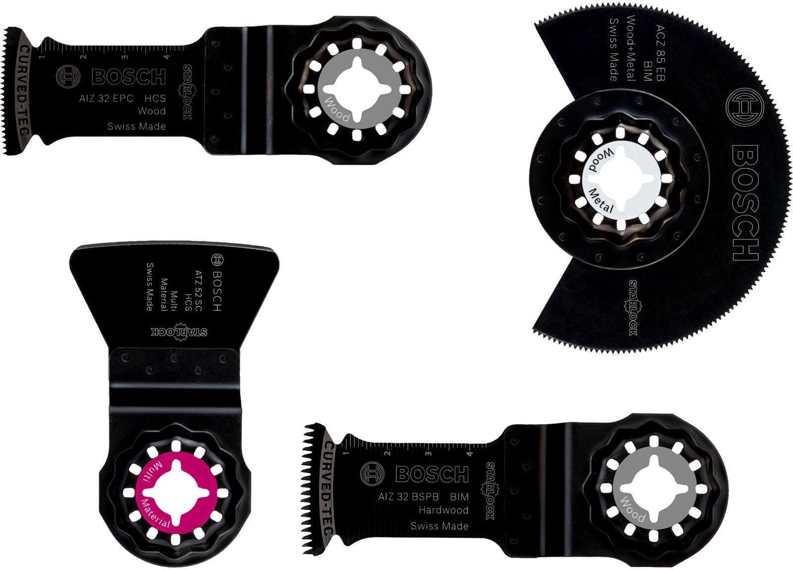 Bosch 4 Piece Flooring Oscillating Multi Tool Blade Set