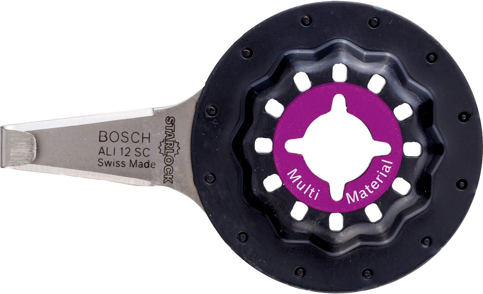 Bosch ALI 12 SC Universal Starlock Oscillating Multi Tool Sealant Remover 4mm Pack of 1