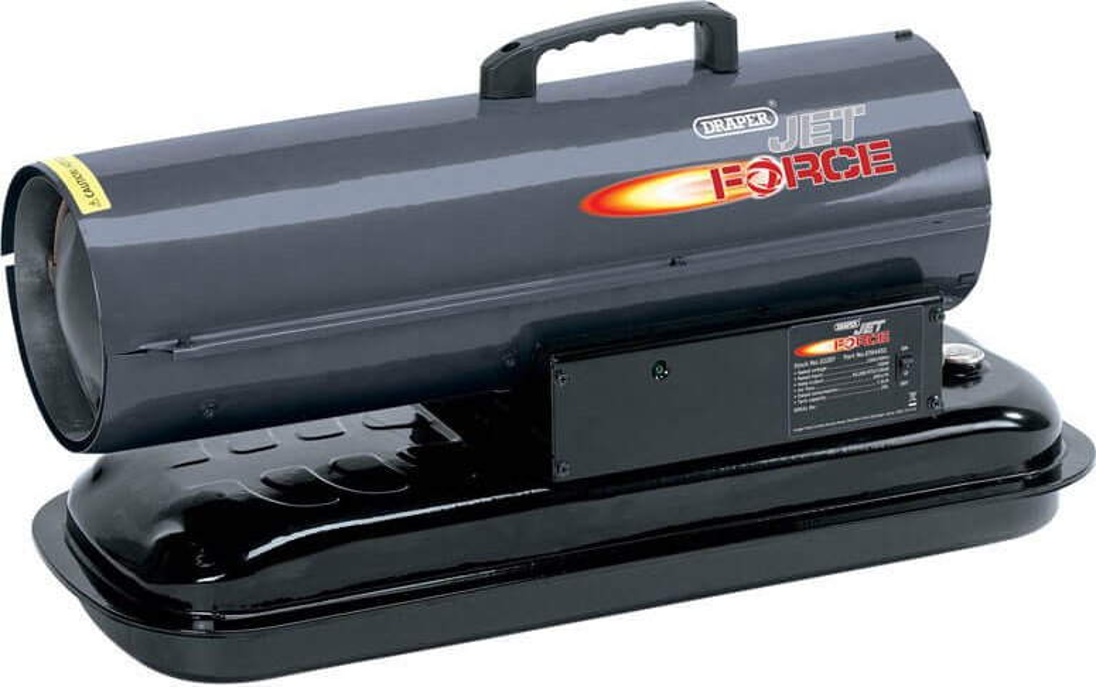 Draper DSH450 Jet Force Diesel or Paraffin Space Heater 240v