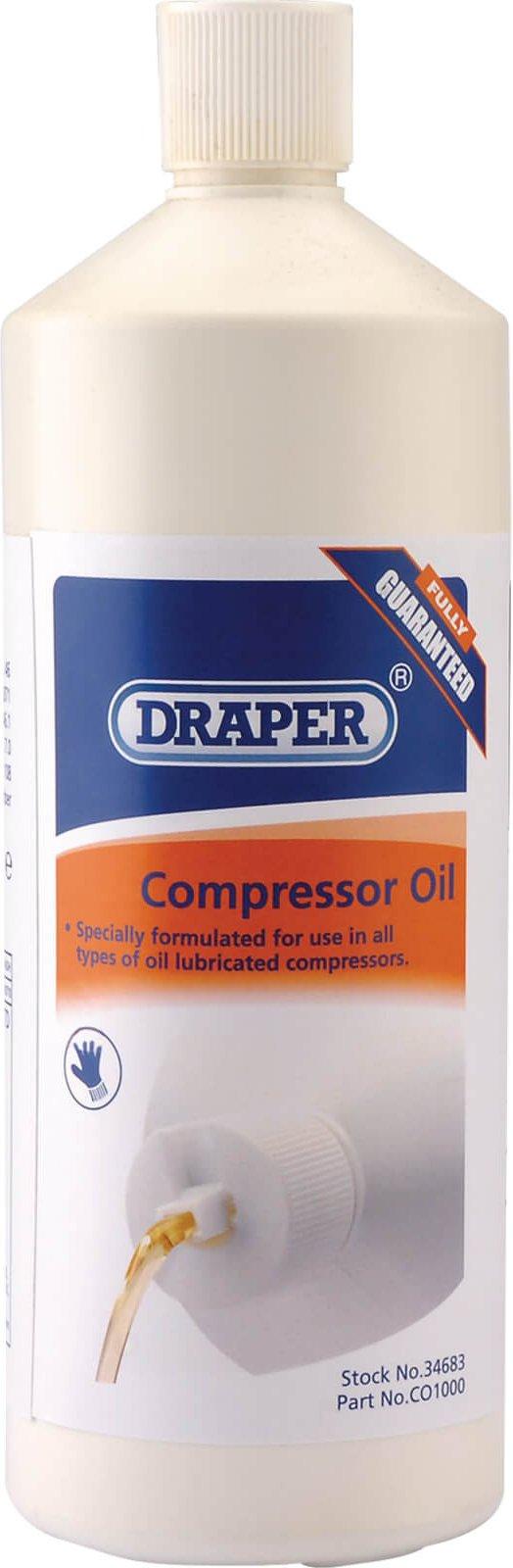 Draper Air Compressor Oil 1l