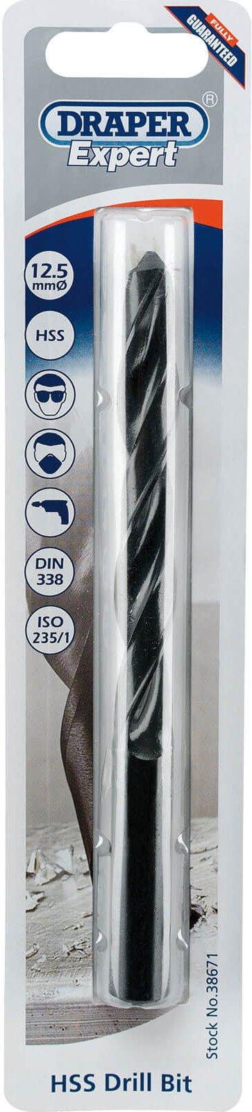 Draper Expert HSS Drill Bit 12 5mm Pack of 1