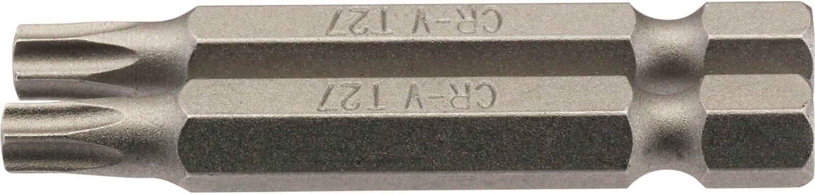Draper Torx Screwdriver Bits T27 50mm Pack of 2