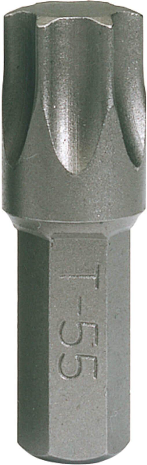 Draper 8mm Hex Shank Impact Torx Screwdriver Bit T55 25mm Pack of 1