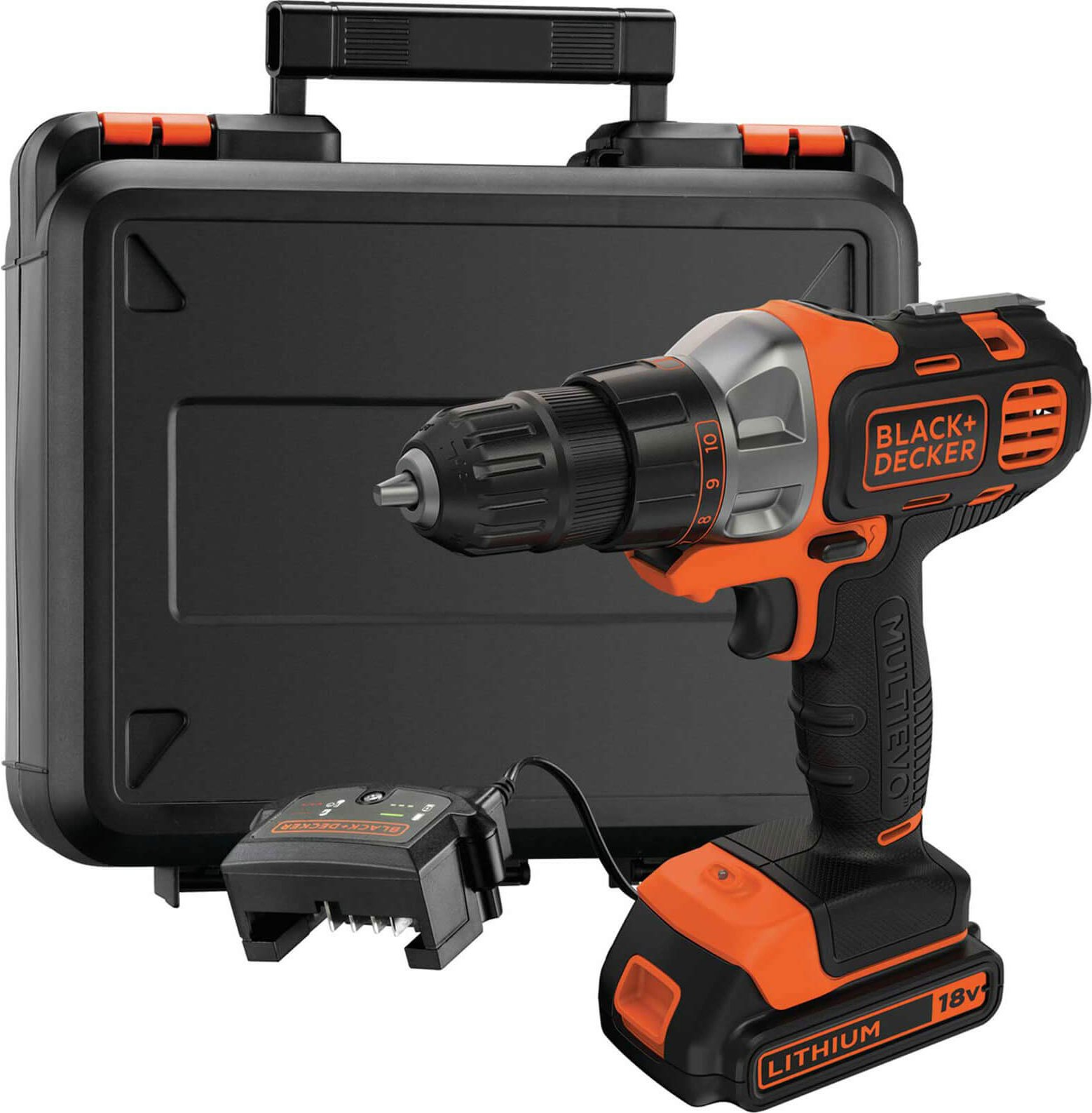 Black and Decker MT218K MULTiEVO 18v Cordless Multi Tool 1 x 1 5ah Li ion Charger Case
