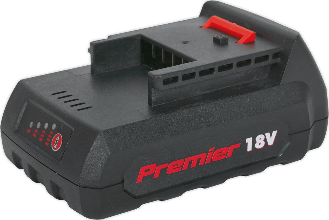 Sealey CP6018VBP 18v Cordless Li ion Battery for CP6018V 1 5ah