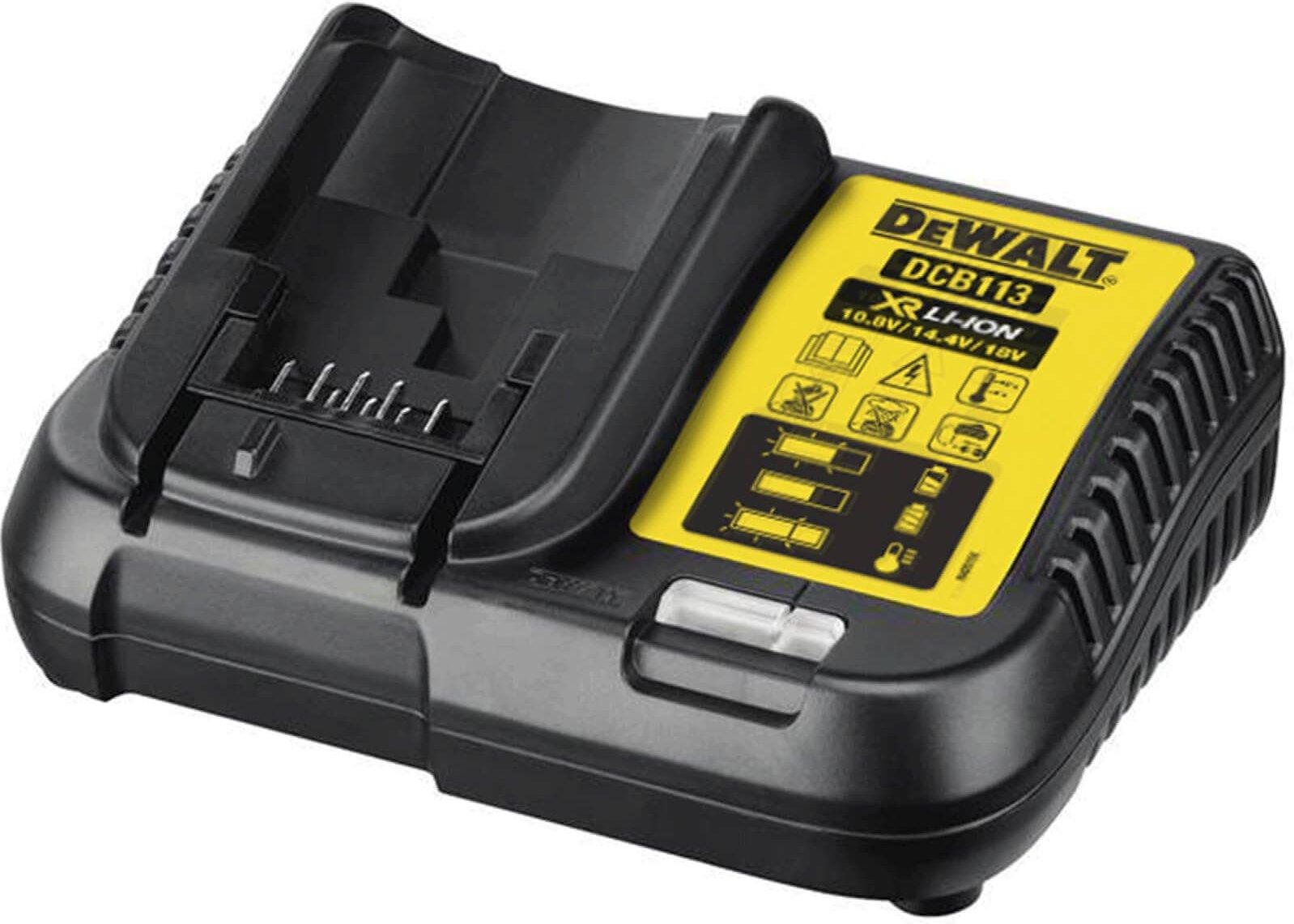 DeWalt DCB113 XR 18v Cordless Li ion Battery Charger