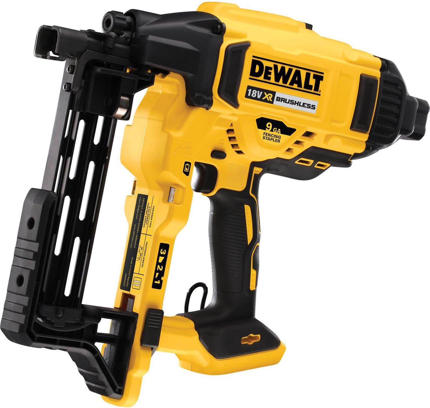 DeWalt DCFS950 18v XR Brushless Cordless Fencing Stapler No Batteries No Charger No Case