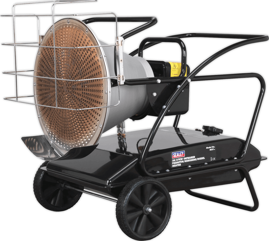 Sealey IR37 Infrared Paraffin and Diesel Space Heater