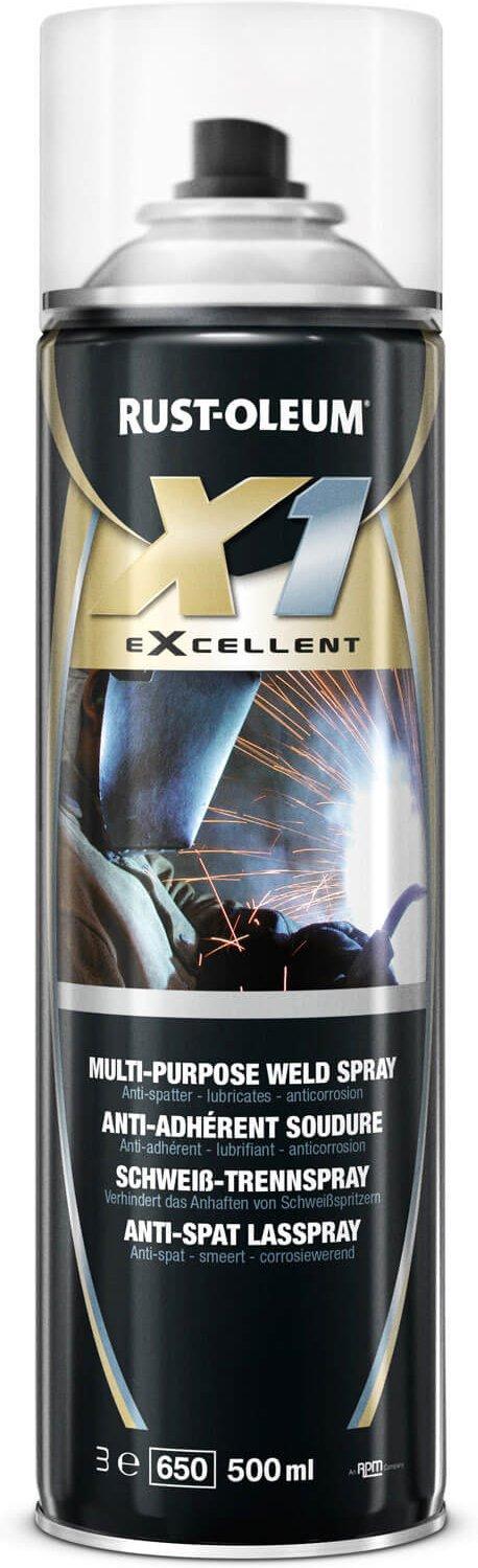 Rust Oleum X1 eXcellent Multi Purpose Weld Splatter Spray 500ml
