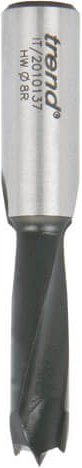 Trend TCT Dowel Drill 201 Series 8mm 35mm 10mm