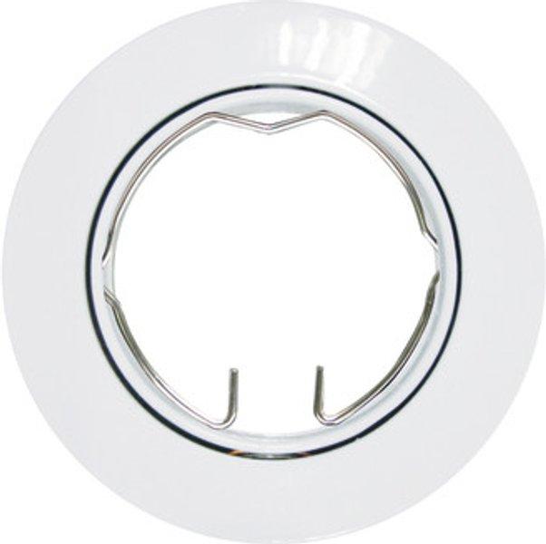 Ghiera Per Faretto Da Incasso Orientabile Tondo Clane In Alluminio Diam 8 Cm 2 5xgu10 Max0w Ip23 Inspire 1 Pezzi