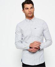 Camicia Grigio uomo Camicia con colletto abbottonato Shoreditch