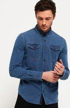 Camicia Blu uomo Camicia in denim Dragway