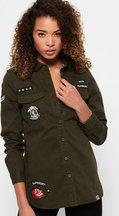 Camicia Verde donna Camicia Military