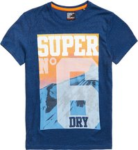 T-shirt Blu uomo T-shirt Super No. 6 Mountain