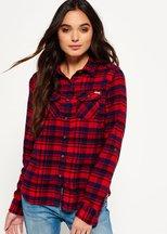 Camicia Rosso donna Camicia in flanella pettinata