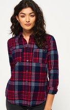 Camicia Rosso donna Camicia Lumberjack