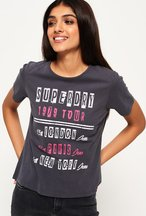 T-shirt Grigio Scuro donna T-shirt Tour Boxy