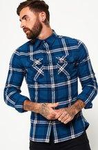 Camicia Blu uomo Camicia Lumberjack
