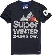 T-shirt Navy uomo T-shirt Winter Sports