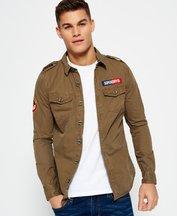Camicia Verde uomo Camicia leggera Army Corps