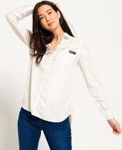 Camicia Bianco donna Camicia Tencel™