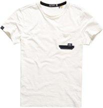 T-shirt Bianco uomo T-shirt con taschino Surplus Goods