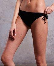 Costume Nero donna Slip bikini Sport Tie